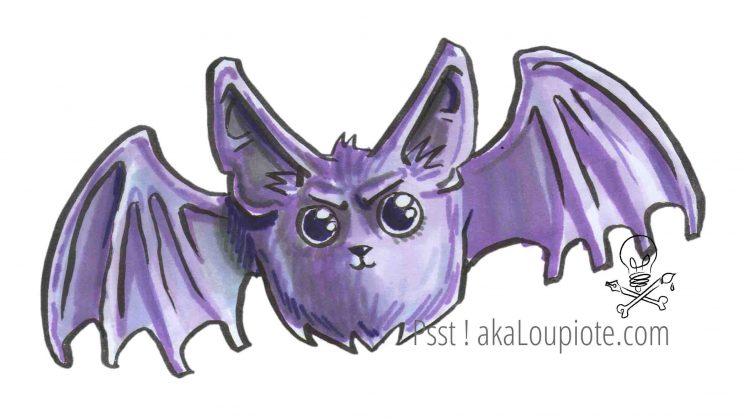 Mod les de dessins sur halloween aka loupiote - Modele dessin chauve souris ...